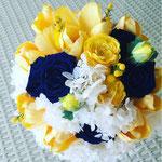プリザーブドブーケ 花ひろ ウェディング オシャレ 新婦 福井 花屋 結婚式 ブライダル 挙式 披露宴 ナチュラル hanahiro