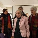 Luciana Thordai (Mitte) war 1959 beteiligt am Lehrerinnenstreik.