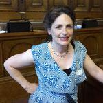 Sasha Mazzotti, Grossrätin und Schauspielerin, hat die szenischen Einlagen mit den Frauen vom jungen Theater einstudiert.