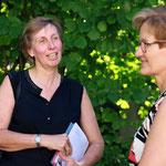 Marianne Herrera empfängt Dr. Sabine Pegoraro, Regierungsrätin