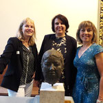 Von links: Eva Gschwind, Elisabeth Ackermann und Dominique König