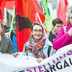 Aarau: Demobeginn mit Elisabeth Burgener