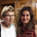 Ursula Nakamura frbb (li) und Sibel Arslan Nationalrätin BS