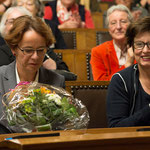 Eva Herzog, Regierungsrätin, und Anita Fetz, Ständerätin.