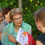 Sabine Kubli, Ursula Nakamura und Marianne Herrera