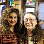 Sibel Arslan NR und Esther Suter, International Alliance of Women