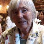 Rosmarie Berger-Hernandez, eine der ersten 14 Grossrätinnen, welche 1968 gewählt wurden.