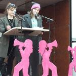Aarau: Demo mit Statements von Elena Flach