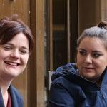 Sarah Wyss BS Grossrätin und Samira Marti BL Nationlarätin