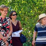 Regierungsrätin S. Pegoraro, Irène Renz und Luciana Thordai-Schweizer