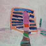 """aus der Serie """"eins - zwei"""" 10, 2016, Acryl auf Leinwand, 20 x 20 cm"""