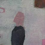 """aus der Serie """"eins - zwei"""" 3, 2016, Acryl auf Leinwand, 20 x 20 cm"""