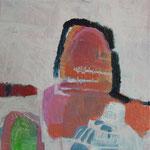 """aus der Serie """"eins - zwei"""" 11, 2016, Acryl auf Leinwand, 20 x 20 cm"""