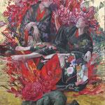 2010年独立展 「香華幻奏」 F100号 ミクストメディア