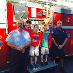 Pictured with Chief John Piccola (left) and Captain Kris Piccola (right)