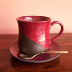 """"""" NEW """"Red Coffee Cup Rs360 (3pcs set:Rs,750)"""