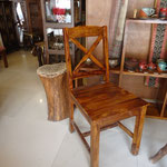Shasham cross chair Rs,4,500