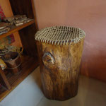 Popuri wood bar stool W31cmD31cmH53cm Rs, 7.800
