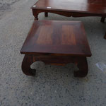 Shesham opium table ss W60cmD60cmH41cm Rs,6,000