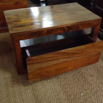 Shesham drawer unit