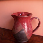 Red coffee pot Rs,2,500