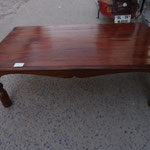 shesham coffee table W135cmD75cmH40cm Rs,13,000