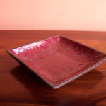 Red SQR Tray Rs,300