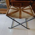 Iron leather stool Rs,7,500