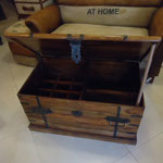 Shesham wine box table W84cmD50cmH46cm Rs,12,000