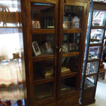 Shesham book cabinet W93cmD35cmH180cm Rs,24,000