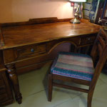Shesham desk W120cmD60cmH82cm Rs,12,000