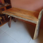 Red ceder wood bench W79cmD40cmH47cm Rs,12,000