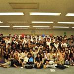 最後は全員集合で写真を^^たくさんの人と仲良くなれました!
