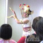 インドネシア舞踊とガムランの演奏風景。 世界の文化に触れてきました。