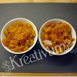 Früchte Kuchen für Fondant Torten -  Aprikosen geschnitten