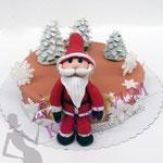 Anfänger Kurs - Fondanttorten - Weihnachten