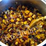 Früchte Kuchen für Fondant Torten - kochen