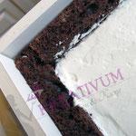 Torte fondanttauglich füllen