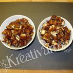 Früchte Kuchen für Fondant Torten -  Datteln geschnitten