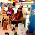 Caipi-Bar im Betrieb