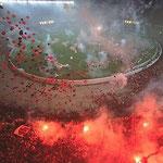 Fussball-Fans von Flamengo