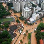 Überschwemmung in Sao Paolo