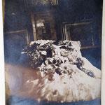 Andenken an die Schuster Tochter in Aschbach +21.10.1918 Seelig im Herrn
