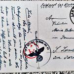 Feldpostkarte 1933