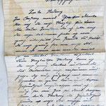 Brief deutsche Feldpost 1945