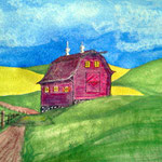 A Palouse barn