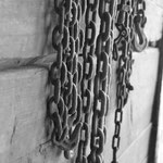 Chains Black and White