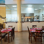 Restaurant und Küche