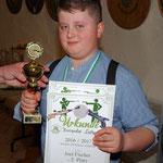Pokal für Joel Fischer