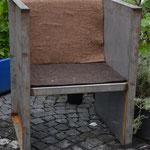 Gartenstuhl aus Eisen
